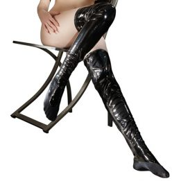 Black Level Vinyl Stockings
