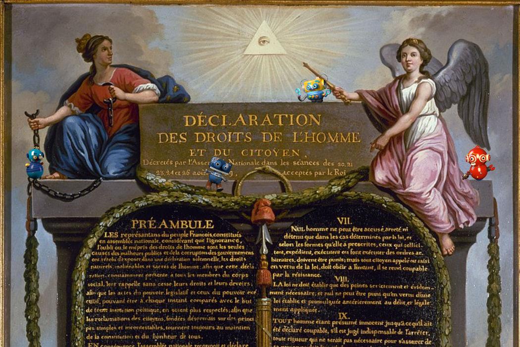 La Déclaration des droits de l'Homme et du citoyen en gif