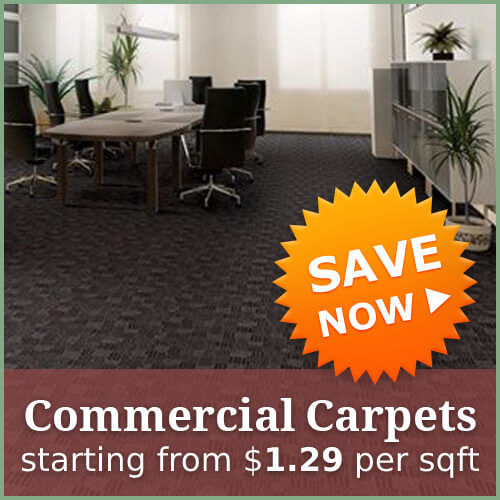 commercial carpets special offer