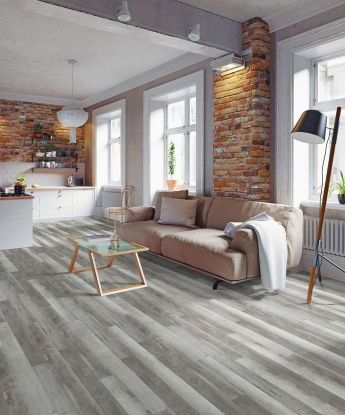 Aerial Luxury Vinyl Floor