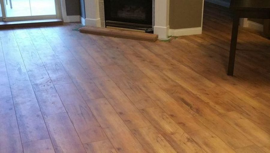Salisbury Laminate Floor with QuiteBlock Underlayment
