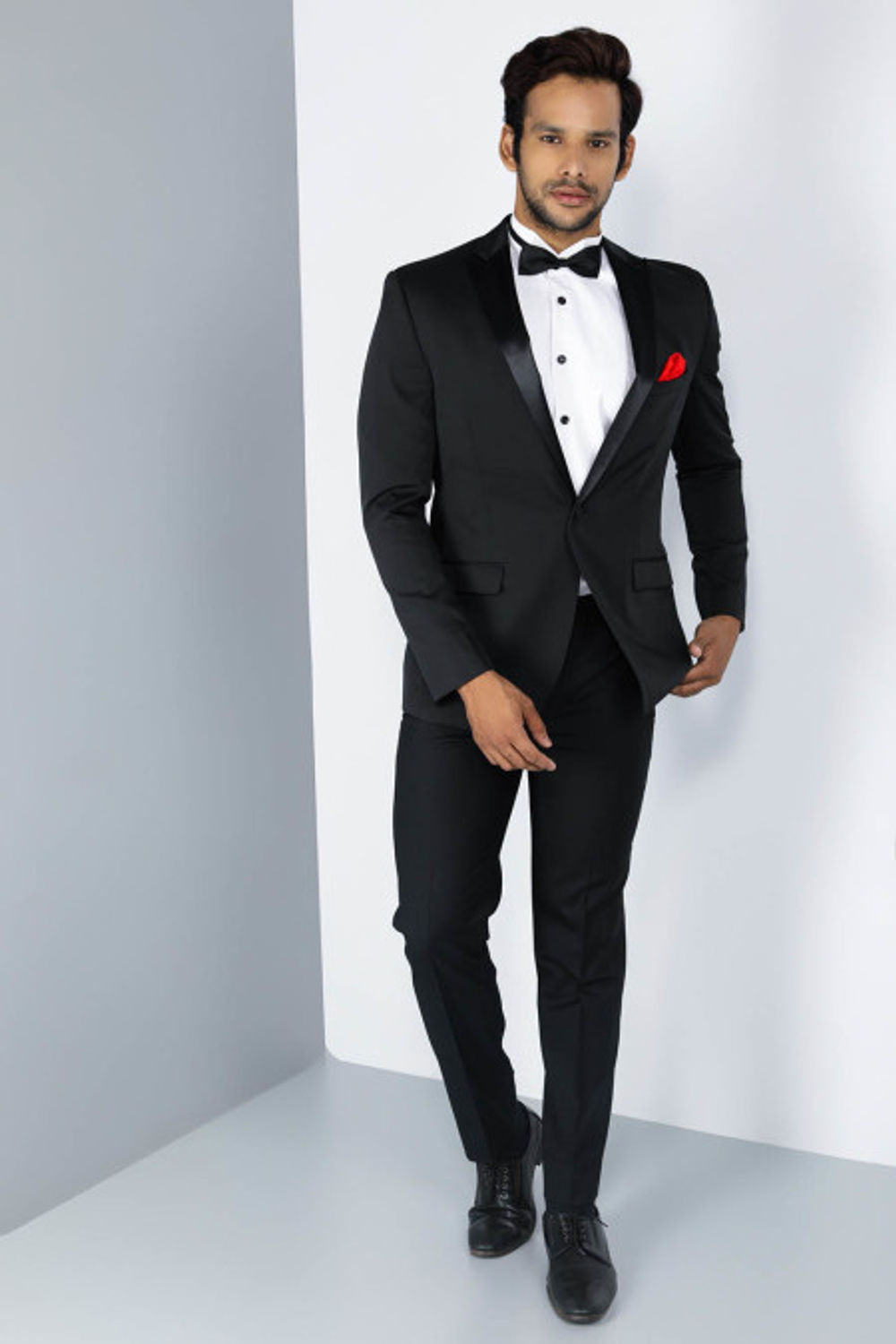 Rent The BostonLuxe - Black Two-Piece Evening Suit
