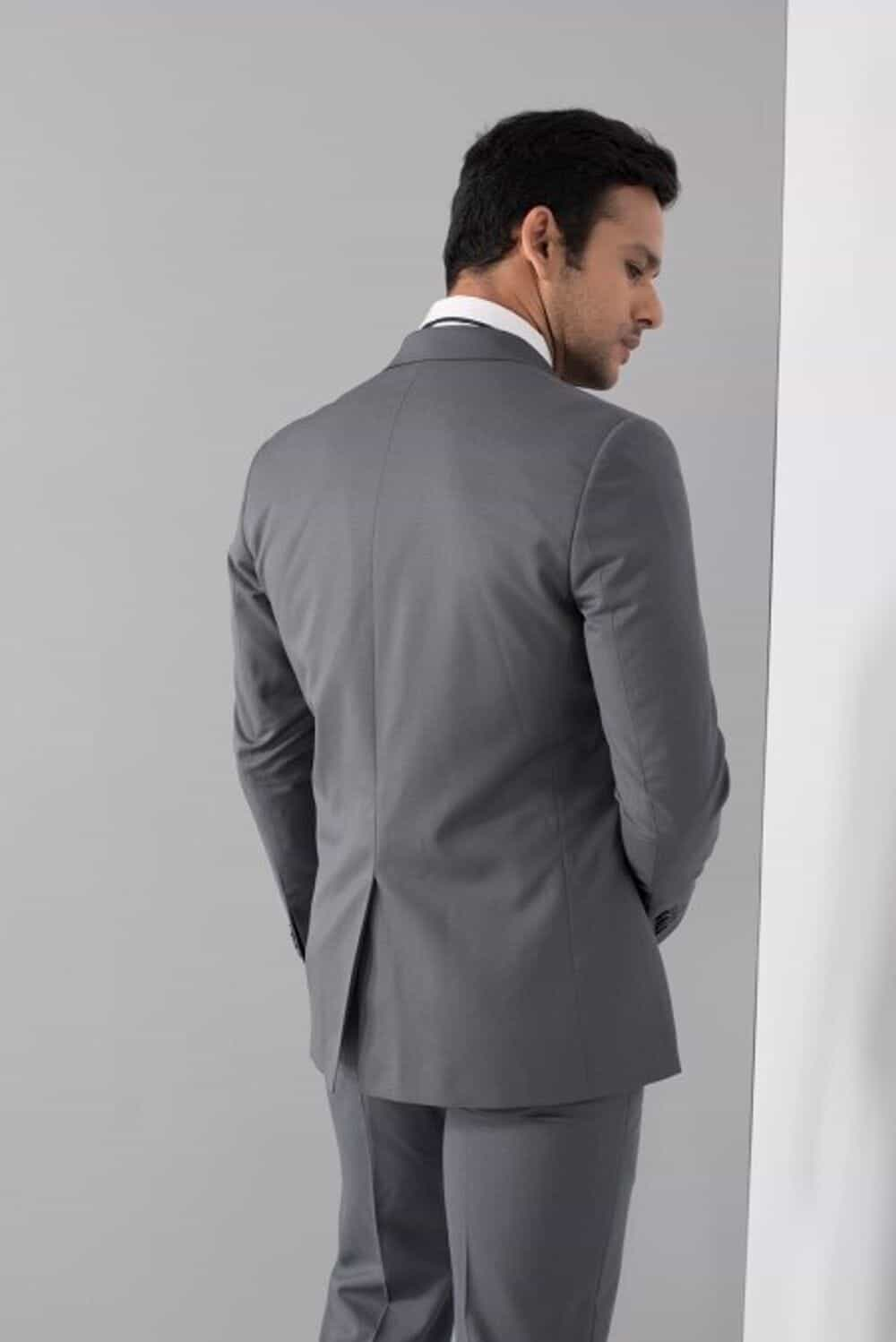 Rent Raymond - Grey Formal Two-Piece Suit