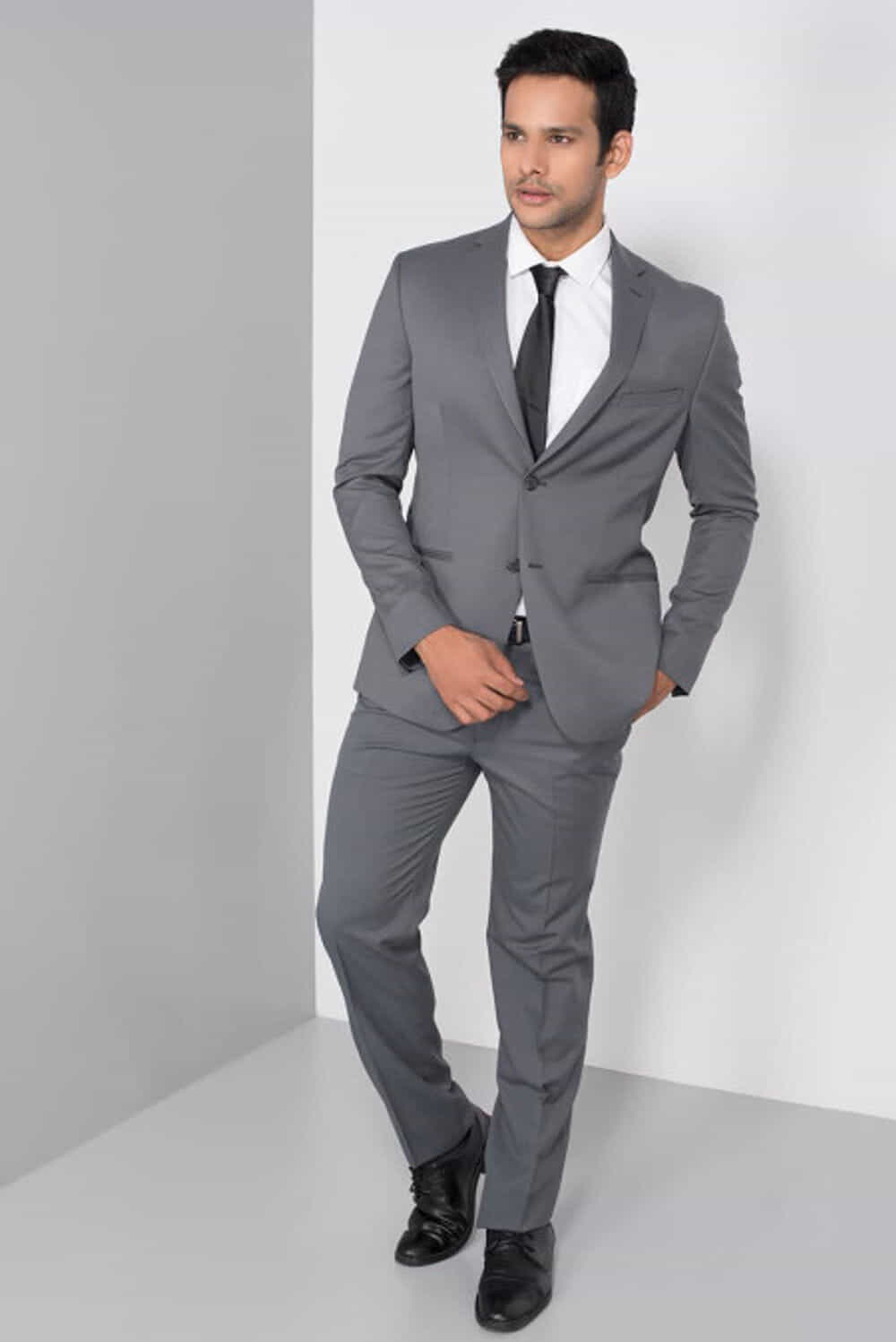 Wedding Dress Suits And Tuxedos Raymond Grey Formal Two Piece Suit At Flyrobe
