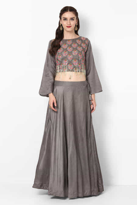 5e9f4ce3d7 Buy Crop Top & Skirts : Clearance Sale on Designer Collection up to ...