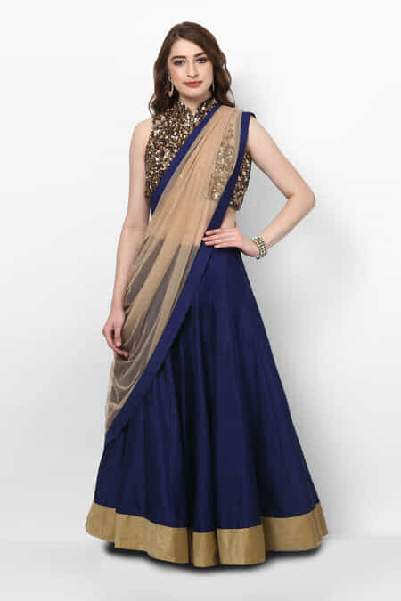 Party Wear Gowns & Dresses Online – Party Wear Gowns for Wedding ...