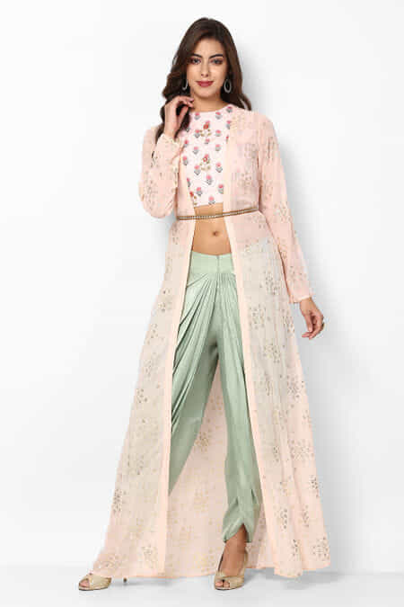 c84fc66702 Rent Dhoti Sets: Designer Women's Dhoti Sets Online Collection in ...