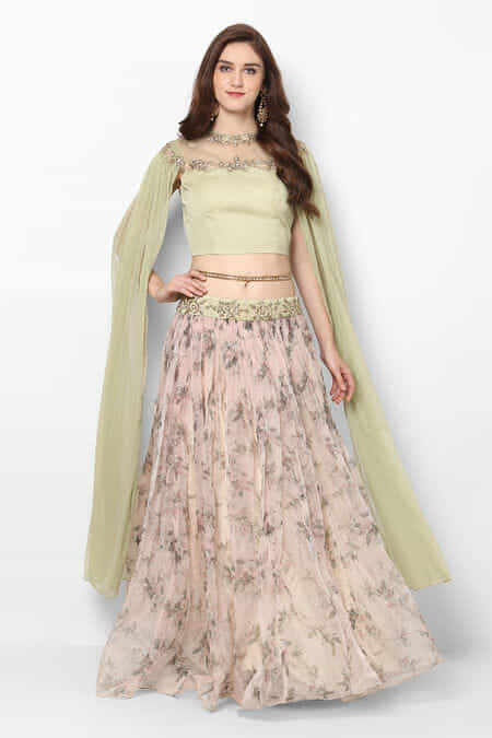 133716336f8 zayah-olive-green-embroidered-extended-sleeve-crop-top-