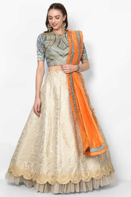 72792e1b1 Party Wear Lehenga – Womens Party Wear Lehenga  amp  Choli Online ...