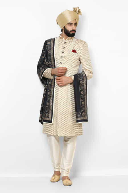 6d3df9f930b Sherwani for Mens Wedding - Rent Latest Designer Groom Sherwani ...