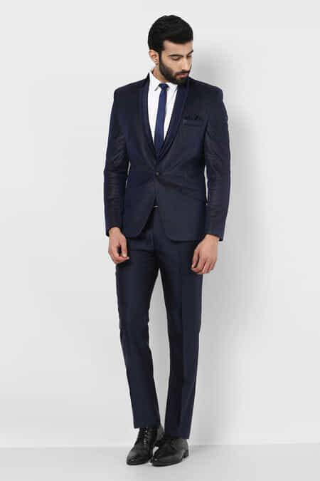 Navy Blue Suits for Wedding, Navy Blue Suit for Men Online - Flyrobe