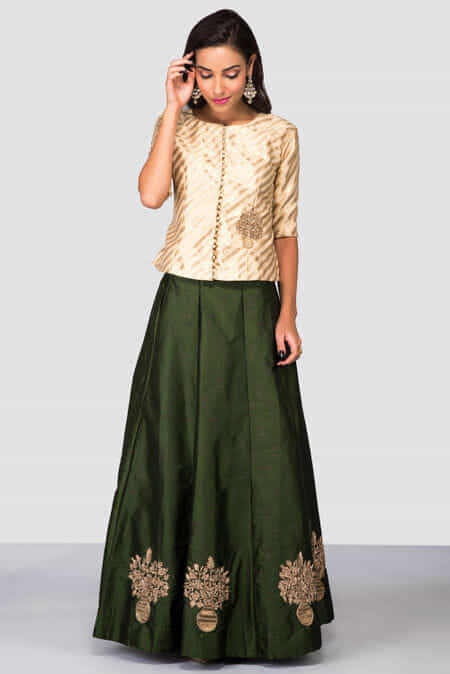 17e527a7e6 Buy Crop Top & Skirts : Clearance Sale on Designer Collection up to 80% off  - Flyrobe.com