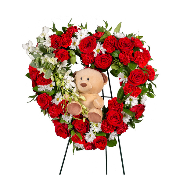 Heart Of Remembrance With Teddy
