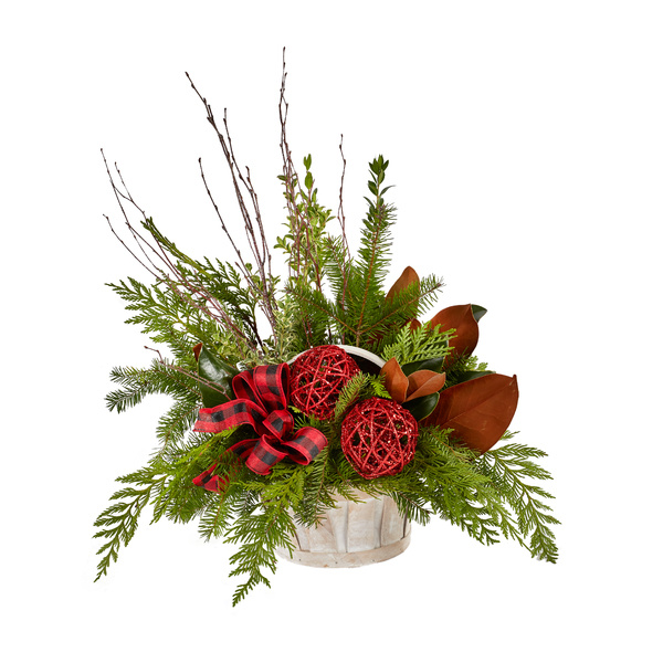 Yuletide Greetings - Floral Arrangement