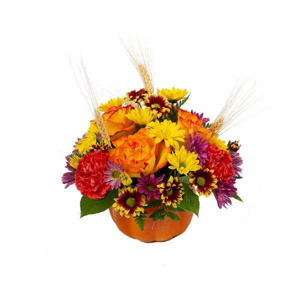 Perfectly Pumpkin - Floral Arrangement