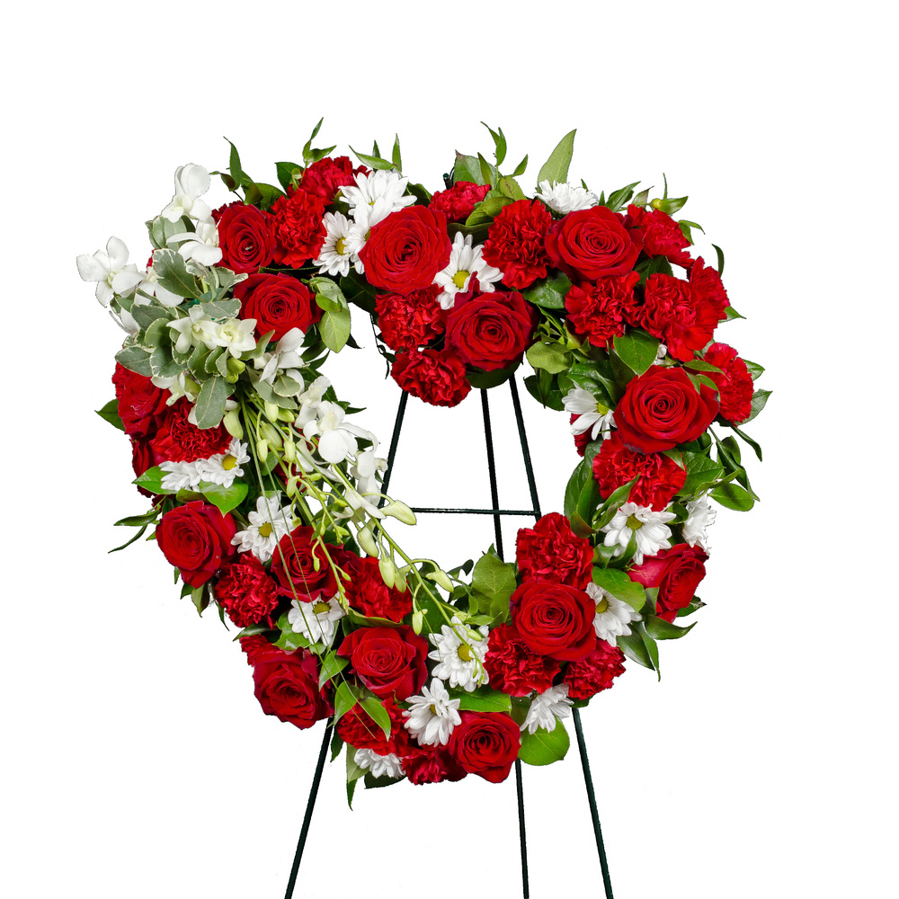 Heart Of Remembrance Wreath