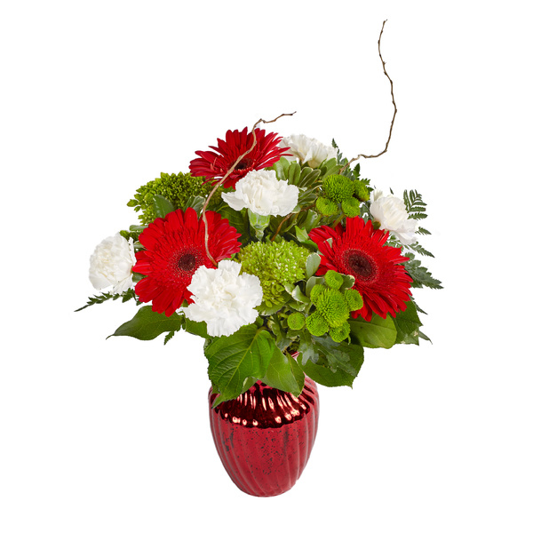 Crimson Holiday - Floral Arrangement