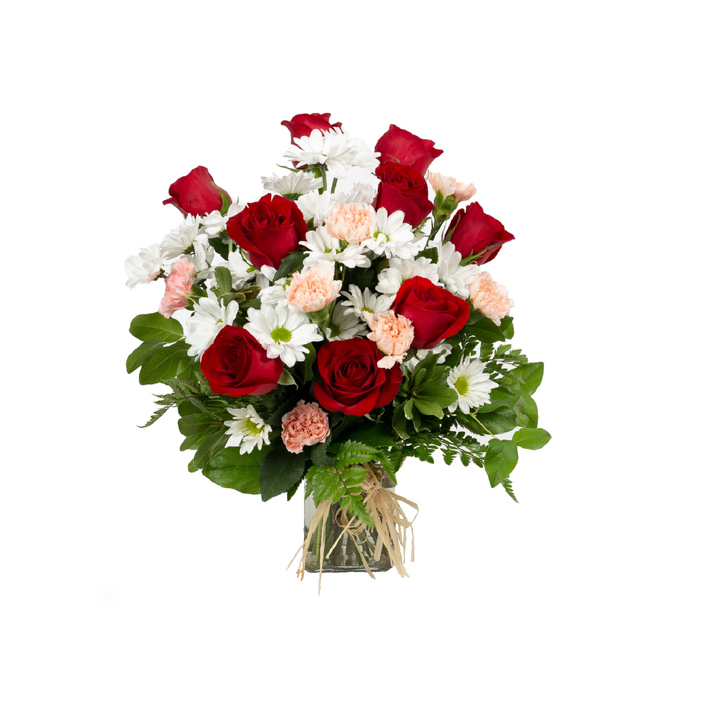 Simply Beautiful (Red) - Floral Arrangement
