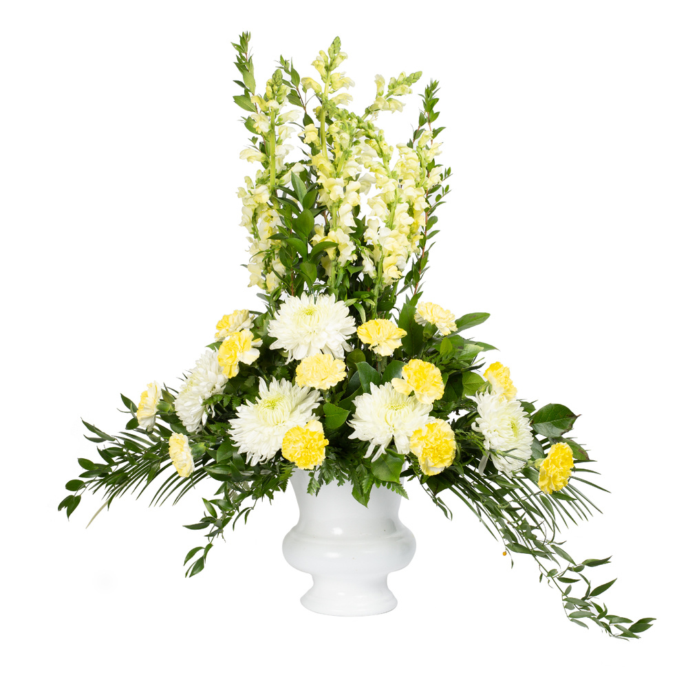 White And Yellow Tribute