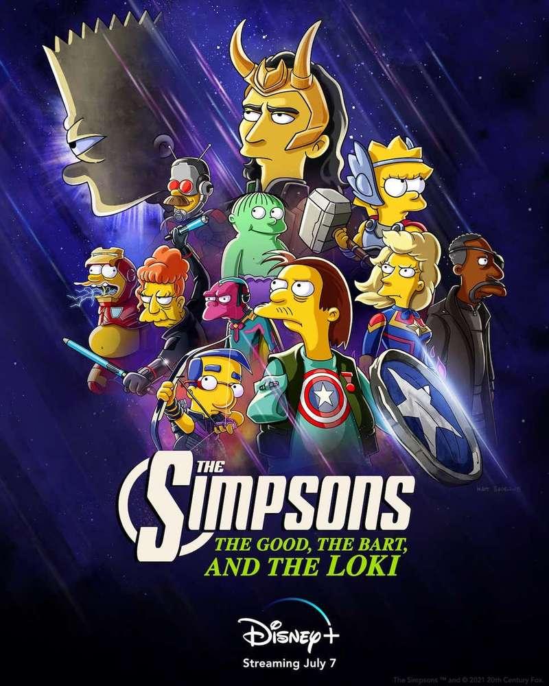 Loki Berkolaborasi Dengan Bart Simpson ??