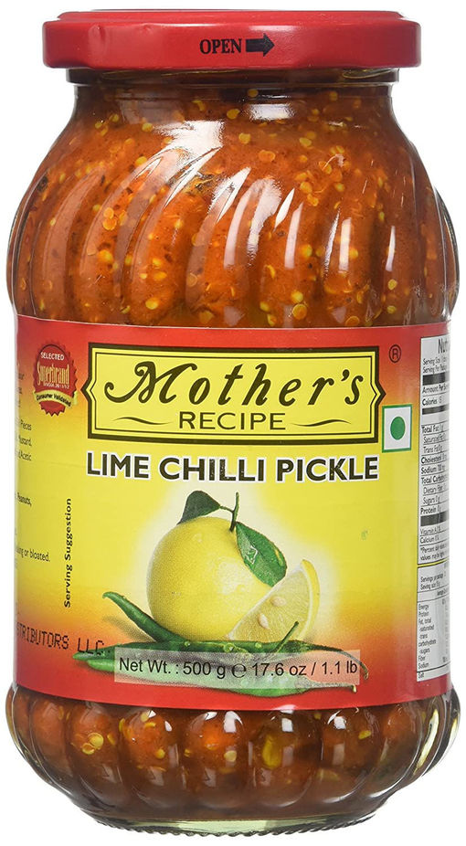 MOTHERS LIME CHILLI 1.1LB/500G