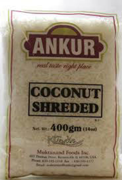 Picture of ANKUR COCONUT SHREDDED 14OZ/400G