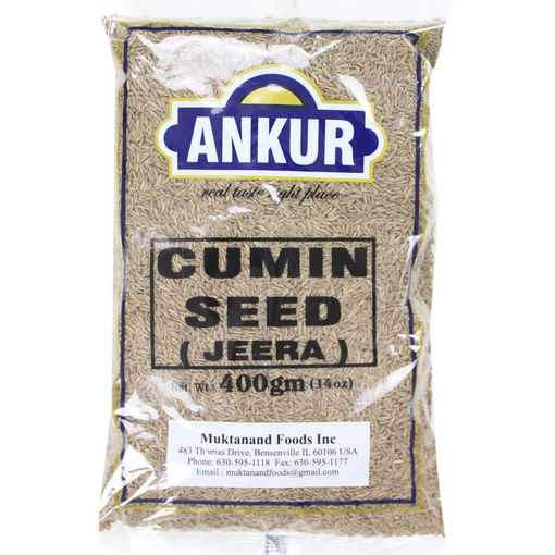 Picture of ANKUR CUMIN SEEDS 14OZ/400G