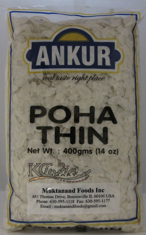 Picture of ANKUR POHA THIN 14OZ/400G