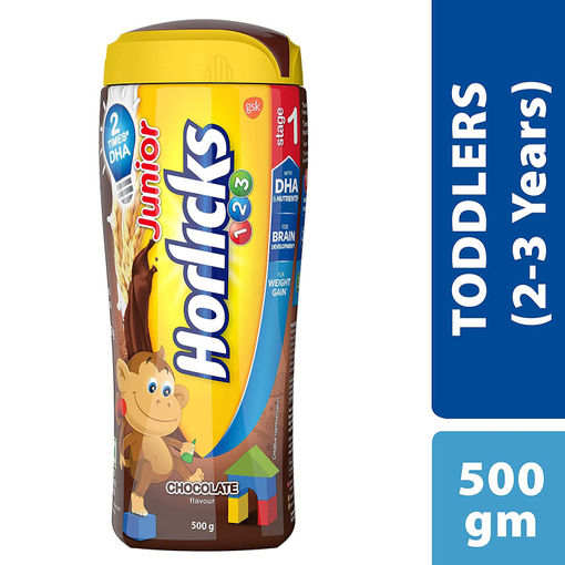 Picture of HORLICKS JR CHOCLATE 500 GMS