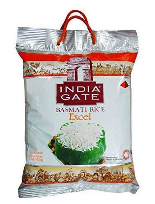 Picture of INDIA GATE BASMATI EXCEL 10LB