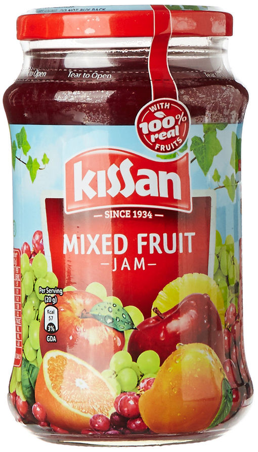 Picture of KISSAN MIX FRUIT JAM 500G