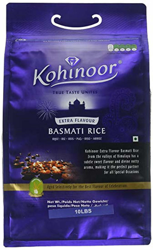 Picture of KOHINOOR BASMATI EXTRA FLAVOUR10LB