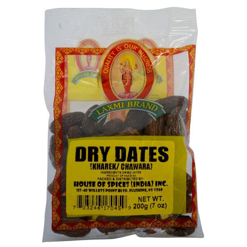 Picture of LAXMI DRY DATES 7OZ/200G