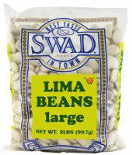 Picture of SWAD LIMA BEANS LARGE 2LB