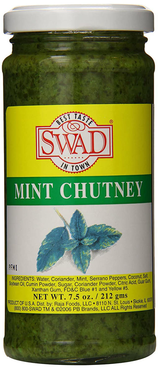 Picture of SWAD MINT CHUTNEY 7.5 OZ
