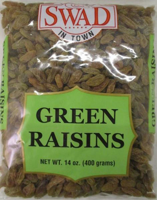 Picture of SWAD NATURAL GREEN RAISINS 14OZ/400G