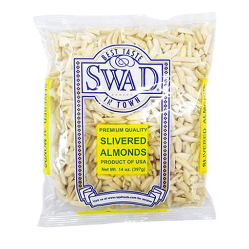 Picture of SWAD SLIVERED ALMONDS 14OZ/400G