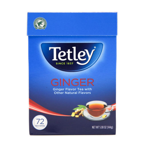 Picture of TETLEY GINGER TEA BAGS