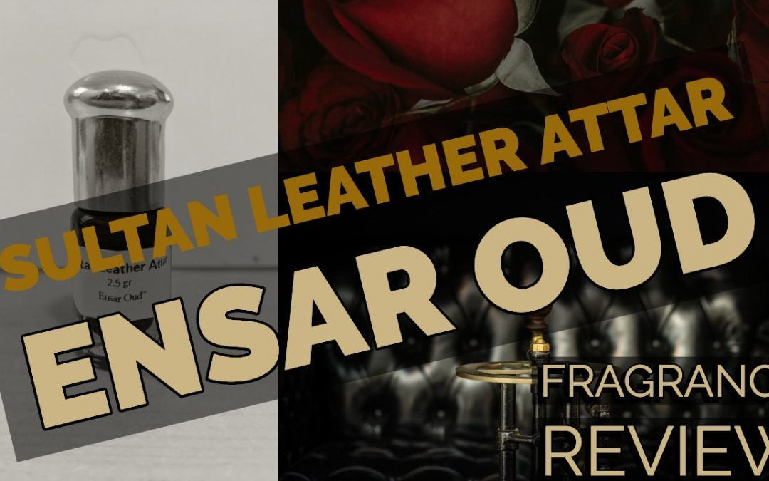 Ensar Oud Sultan Leather Attar