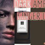 Dark Amber & Orange Lily