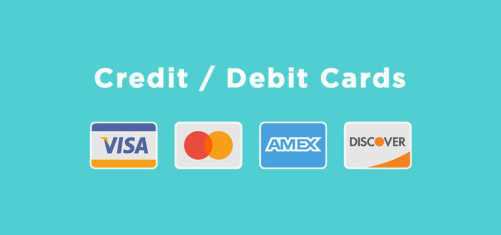 Credit and Debit Cards Casinos