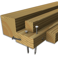 Nail-Embedded Wood