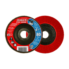 1 Each Diablo 5 In 4-Pack 80-Grit Fiber Disc DCF050080S04G