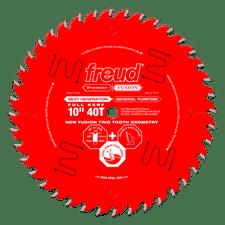 LU79R010 Freud 10 x 80T Thin Kerf Ultimate Plywood /& Melamine Blade