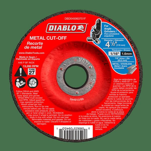 Cut-Off Disc Sheet Slotting Metal Aluminum Oxide 7 In x 7//8 In. x 1//16 In