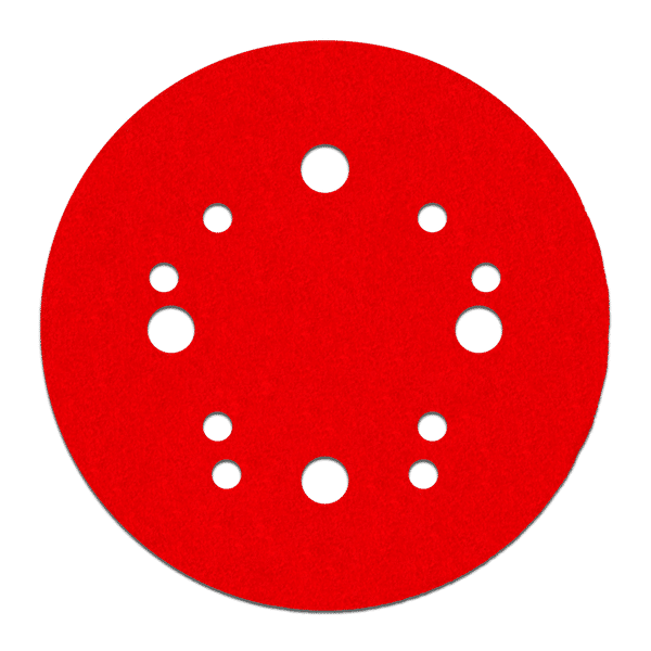 "50 Pack 5/"" Inch 60 Grit No Hole Hook /& Loop Sanding Discs Orbital DA Sandpaper"