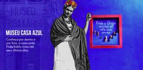 Você já pensou em fazer uma visita na casa em que Frida Kahlo nasceu e morou grande parte de sua vida? Você pode, e não precisa ir até o México.