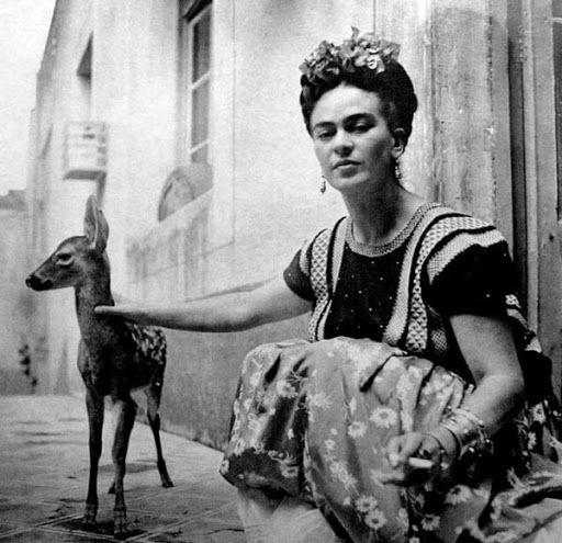 Pouco se fala sobre outro aspecto muito importante da vida de Frida Kahlo, o seu amor pelos animais.