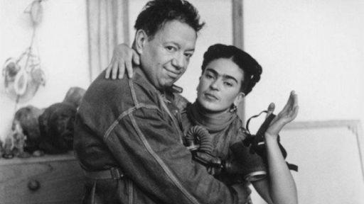 Frida e Diego conheceram-se na Escola Nacional Preparatória enquanto Frida se preparava para cursar a faculdade de medicina.