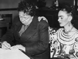 Um ano depois de se divorciarem formalmente, Frida Kahlo e Diego Rivera casaram-se novamente e permaneceram juntos até a morte da artista em julho de 1954.